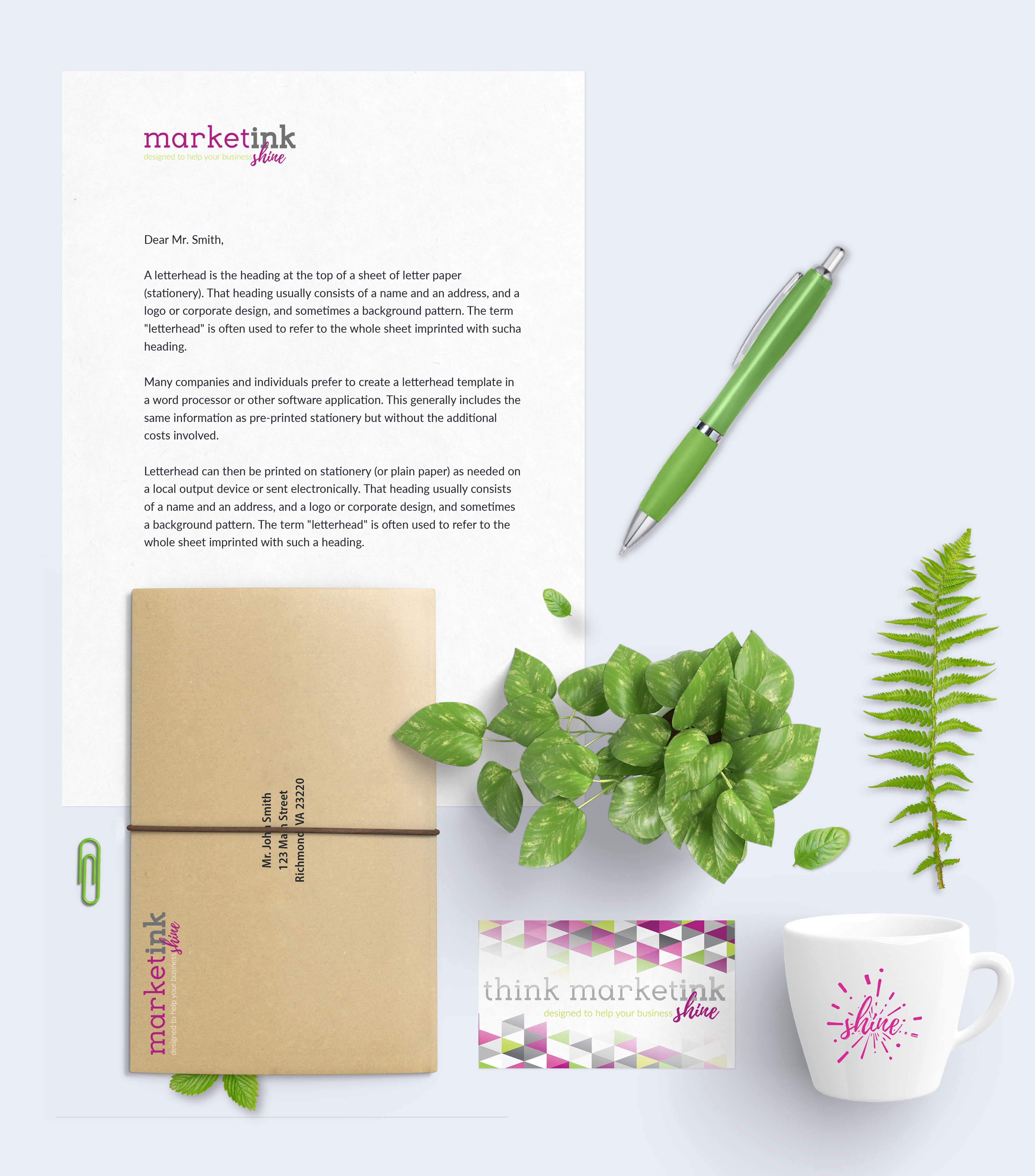 MarketInk - Business Cards & Stationery